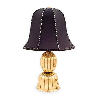 Josef Hoffmann, 'Documented table lamp Josef Hoffmann Wiener Werkstätte ca. 1920s brass marked', ca. 1920
