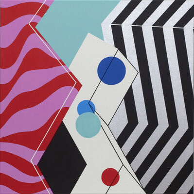 Moritz Green, 'Chrom Quadrat IV', 2020