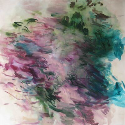 Rebecca Meanley, 'Untitled (Green and Pink)', 2016