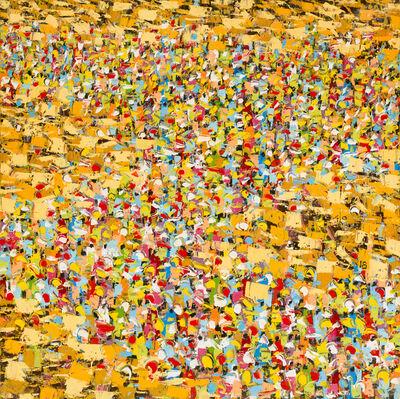 Ablade Glover, 'Marketscape I', 2018