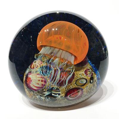 Rick Satava, 'Pacific Coast Jellyfish Side Seascape ', 2019