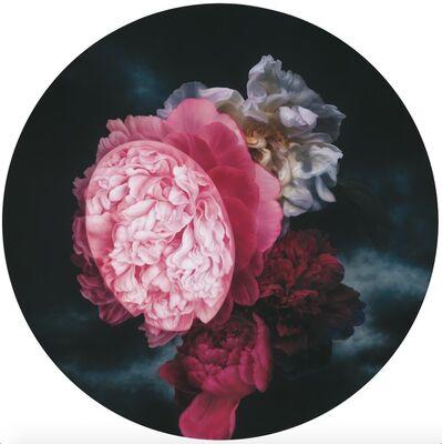 he hongbei, 'Beautiful Flowers & Perfect Moon', 2014
