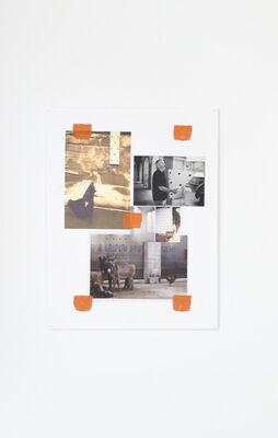 Niele Toroni, 'Empreintes de pinceau N°50 à intervalles réguliers de 30 cm', 2020