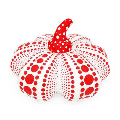 Yayoi Kusama, 'Plush Pumpkin (red & white)', 2015