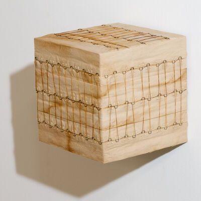 Denise Yaghmourian, 'Stained Cube-Double XX', 2007