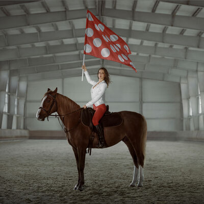 Polina Kanis, 'New Flag', 2013