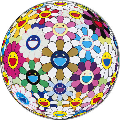 Takashi Murakami, 'Flower Ball (Autumn)', 2004