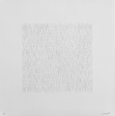 Sol LeWitt, 'Straight Lines, Approximately One Inch Long'