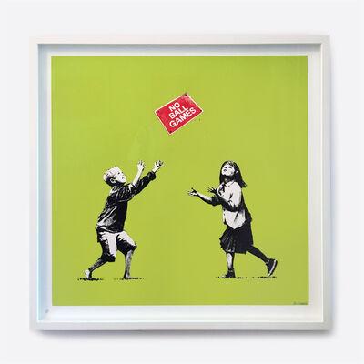 Banksy, 'No Ball Games (Green)', 2008