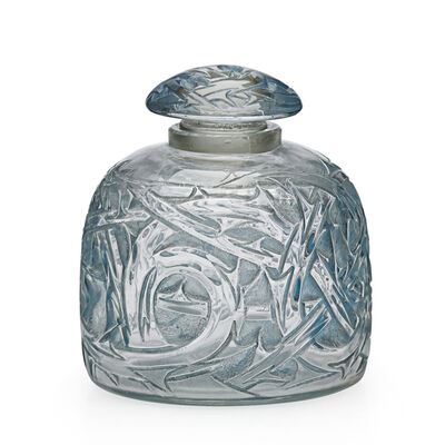 "Lalique, '""Epines No. 3"" Perfume Bottle, France, M P. 343, No. 592, France', 1920s"