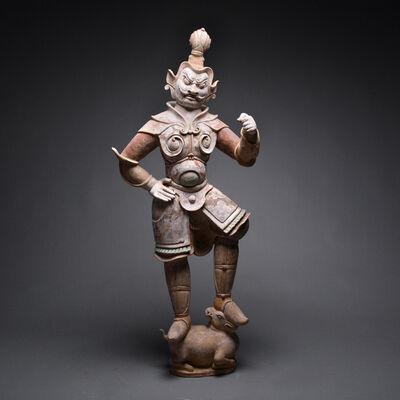 Tang Dynasty, 'Tang Sculpture of a Lokapala', Tang Dynasty, c. 618 , 907 A.D.