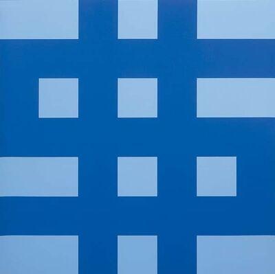 Olivier Mosset, 'Dollar (Bleu)', 1998