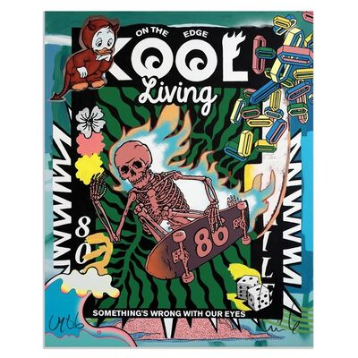 FAILE, 'Kool Living Print', 2020