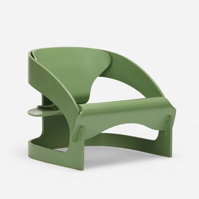 Joe Colombo, '4801 lounge chair', 1964