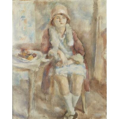 Jules Pascin, 'Jeune Fille au Café', 1927