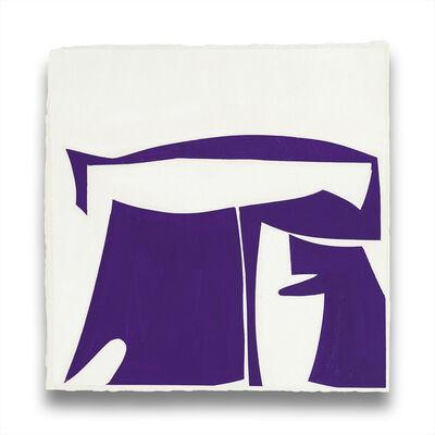 Joanne Freeman, 'Covers 13-Purple B', 2014