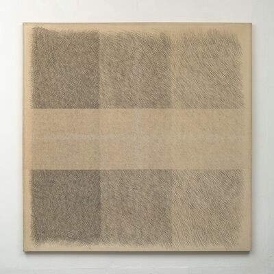 Amikam Toren, 'Untitled With a Horizontal Thread Removed 02', 1973