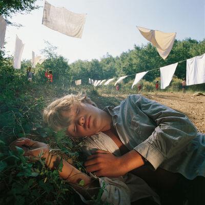 Bernard Faucon, 'Le dormeur, Les Grandes Vacances', 1980