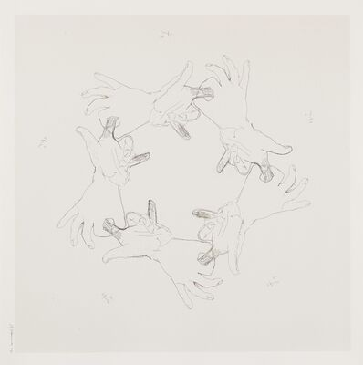 Bruce Nauman, 'Untitled (Gemini 36.36-43)', 1994