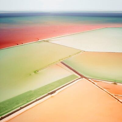 David Burdeny, 'Saltern Study 06, Great Salt Lake, UT', 2015