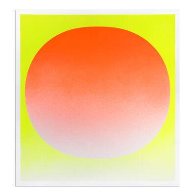Rupprecht Geiger, 'Orange on Yellow', 1969