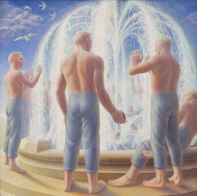 George Tooker, 'Fountain', 1950