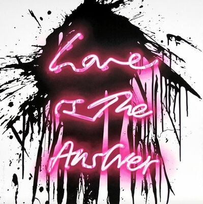 Mr. Brainwash, 'Love is the Answer', 2018