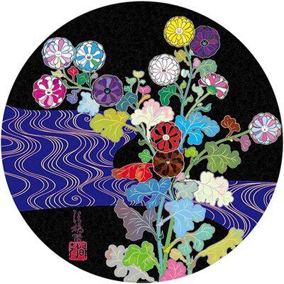 Takashi Murakami, 'Kansei: Wildflowers Glowing in the Night', 2014