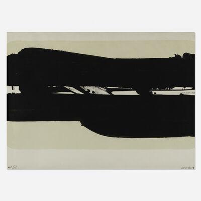 Pierre Soulages, 'Lithographie no. 39', 1977