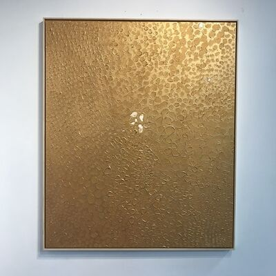 Ted Collier, 'Pointillism Series 6 (Gold on Gold Drops)', 2019