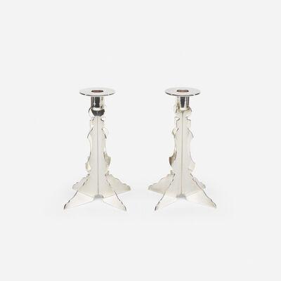 Robert Venturi, 'Candlesticks, pair', 1985-86