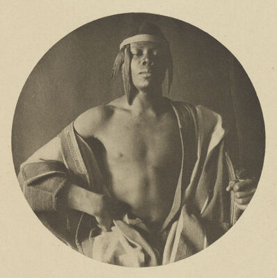 F. Holland Day, 'An Ethiopian Chief', 1897