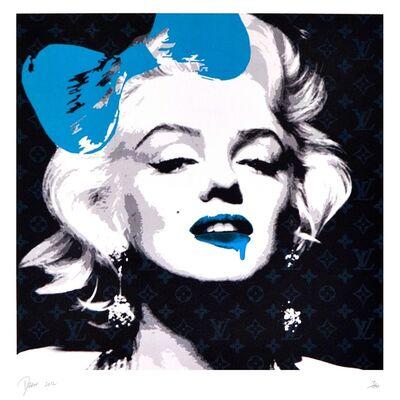 Death NYC, 'MARYLIN DRIP MELT BLUE', 2012