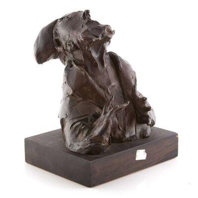 "David Aronson, 'Judaica Bronze Sculpture ""Rabbi"" Figure Jewish American Boston Figural Modernist', 20th Century"