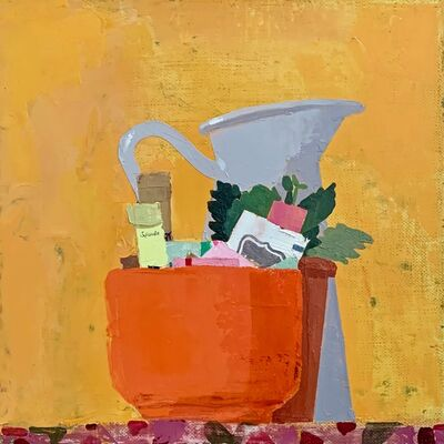 Sydney Licht, 'Still Life with Plant & PItcher', 2020