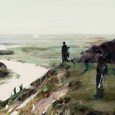 Alex Kanevsky, 'Landscape with People', 2019