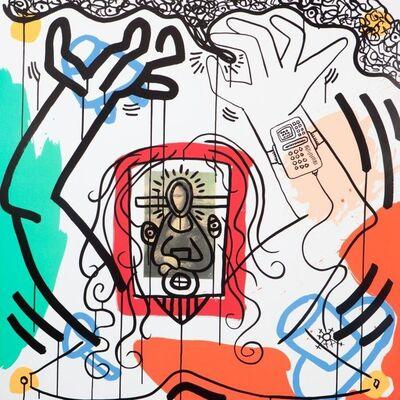 Keith Haring, 'Apocalypse No. 6', 1988