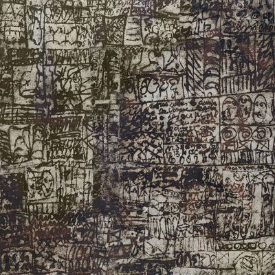 Gene Mann, 'Archéologie du Silence, 2', 2018