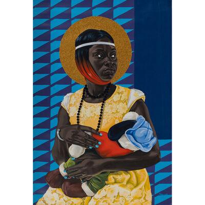 Marc Padeu, 'Vierge à l'enfant', 2019