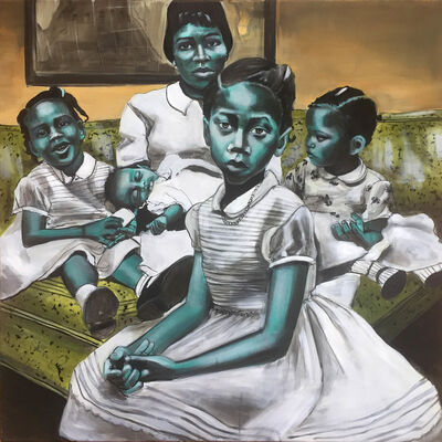 Charlotta Janssen, 'Betty and Her Daughters', 2017