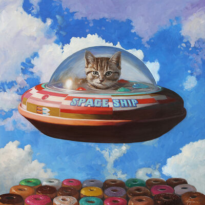 Eric Joyner, 'This Is Not a Cat in a Spaceship', 2019