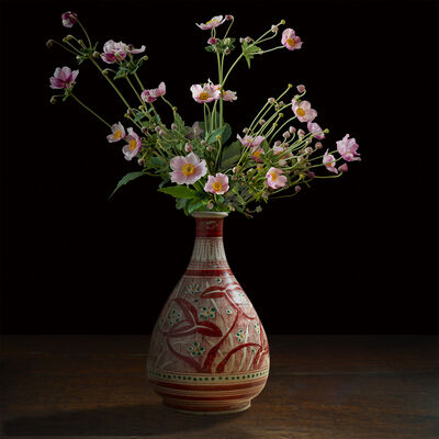 T.M. Glass, 'Anemones in a Japanese Vessel', 2017