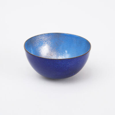 Paolo De Poli, 'Blue Enameled Bowl ', 1950-1960