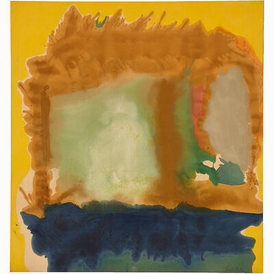 Helen Frankenthaler, 'Milkwood Arcade', 1963