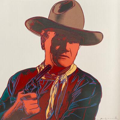 Andy Warhol, 'John Wayne II.377', 1986