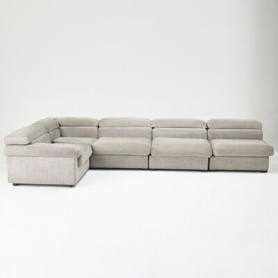 Afra and Tobia Scarpa, 'Erasmo five-piece sectional sofa', 1970s