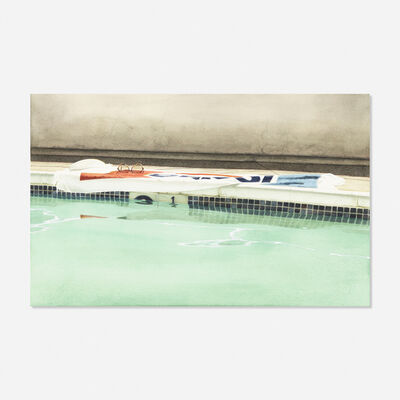 Guy Diehl, 'Pool Ten Dollars', 1978