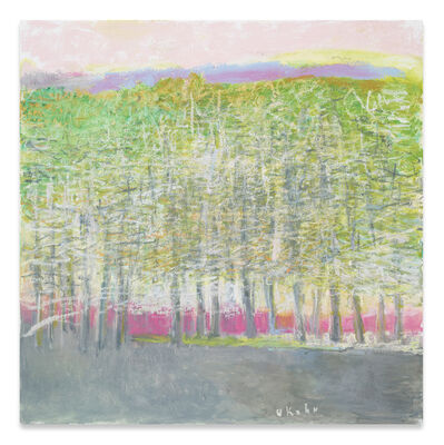 Wolf Kahn, 'Last Glow of Autumn', 2019