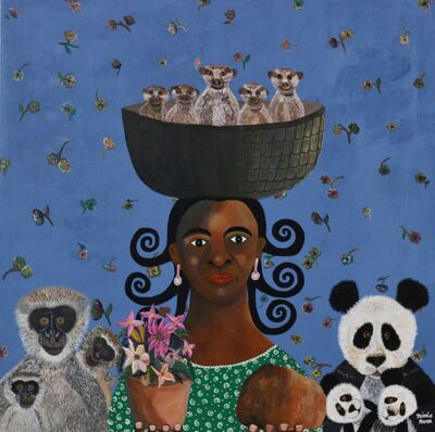 Phindile Mamba, 'A Mothers Love', 2018