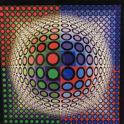 Victor Vasarely, 'VEGA-PAL-B', 1972